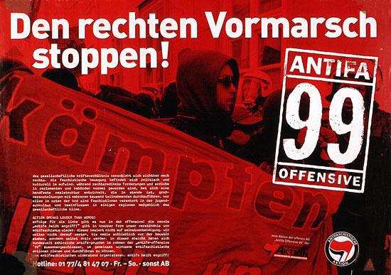 Antifa Plakate