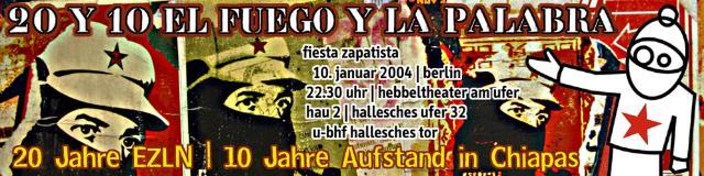 EZLN-Party Banner