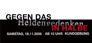 Halbe 2006 Banner
